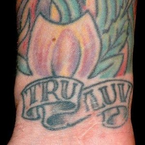 "Pink ""True Love"" Tattoo"