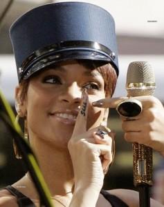 Rihanna's Shhh... Tattoo