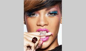 Rihanna Shhh Finger Tattoo