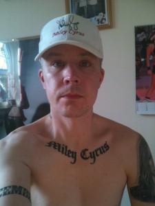 Fan's Miley Cyrus Tattoos