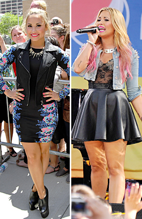 Style Guru Demi Lovato Set to Model for Topshop Clothing Store