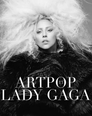 Lady Gaga May Only Be Wearing Tattoos to Record ARTPOP