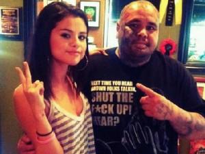 Selena Gomez Wrist Tattoo