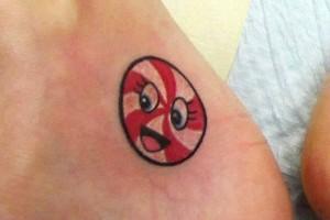Katy Perry Peppermint Wrist Tattoo