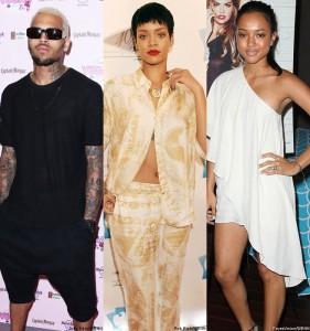 Chris Brown Rihanna Karrueche