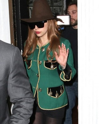 Lady Gaga Sparks New Tattoo Rumors With Visit to Shamrock Tattoo