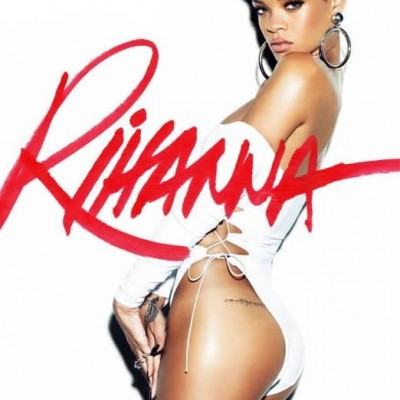 "Rihanna Hip Tibetan ""Lover"" Tattoo"