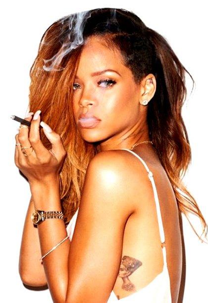 Rihanna's Side Queen Nefertiti Tattoo