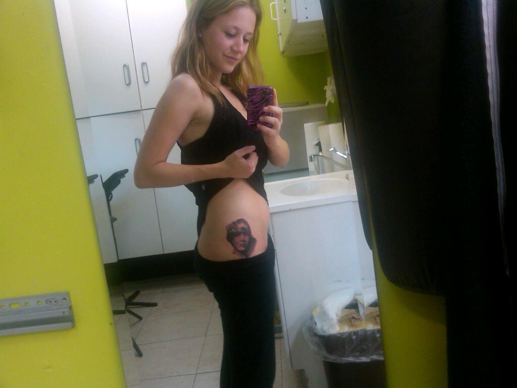 Justin Bieber Tattoos for Girls
