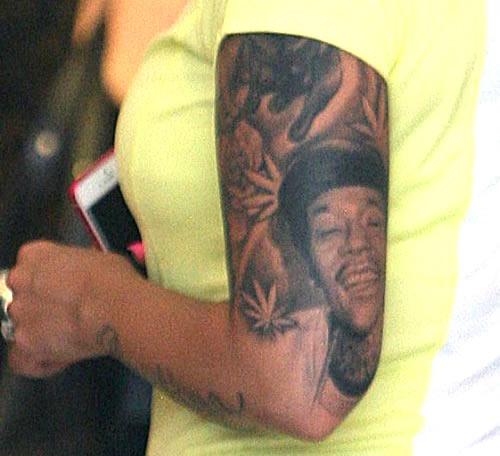 wiz khalifa amber rose tattoo