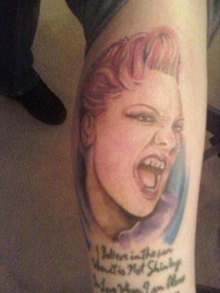 3 Kinda Weird Pink Fan Tattoos