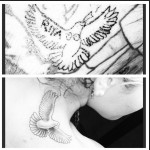 Rita Ora Tattoos Bang Bang