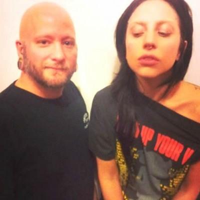 Watch Lady Gaga Get Her Septum Pierced in Preparation for ARTPOP