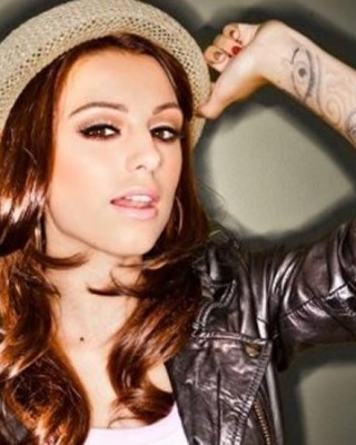 Cher Lloyd's Crying Eye Wrist Tattoo