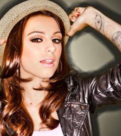 Cher Lloyd's Crying Eye Wrist Tattoo