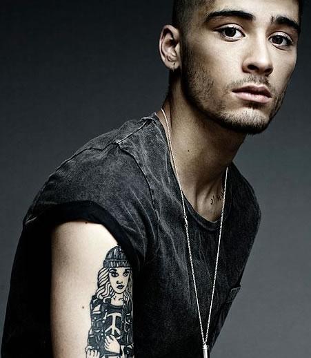 Zayn Malik Tattoo 2013 Portrait Tattoos: A Gr...