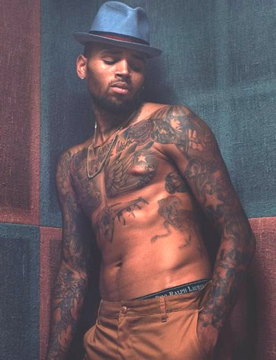 www.popstartats.com/.../chris brown tattoos.jpg Chris Brown Rihanna Tattoo