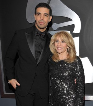 Photo of Drake & his  Mother  Sandi Graham