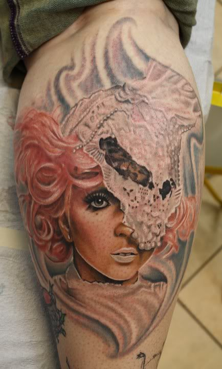 4 Awesome Tattoos of Lady Gaga on Die-Hard Fans