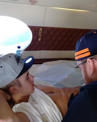 Justin Bieber and Bang Bang May Have Broken Record for Highest-Altitude Tattoo