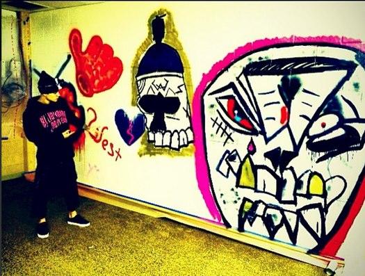 1 justin bieber graffiti Brazil