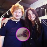 ed sheeran christina perri tattoo