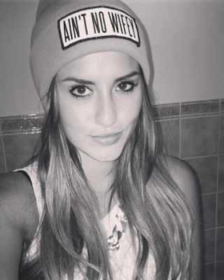 Lucy Watson Channels Rihanna With New Gangsta Gun Tattoo