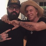 mickey rourke arm tattoo