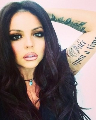 "Little Mix's Jesy Nelson Reveals New ""Once Upon a Time"" Arm Tattoo on Instagram"