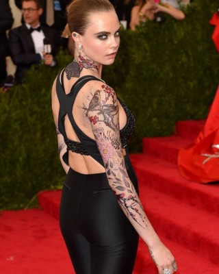 Were Any of Cara Delevingne's Intricate Met Gala Tattoos the Real Deal?