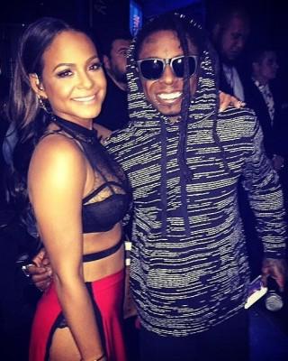 """Christina Milian Flaunts New Lil Wayne-Inspired """"TnT"""" Tattoo"""