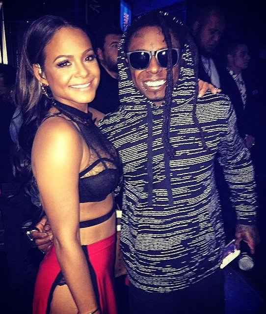 "Christina Milian Flaunts New Lil Wayne-Inspired ""TnT"" Tattoo"