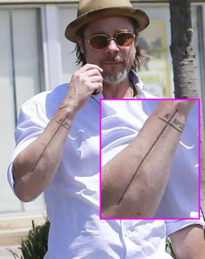 brad-pitt-arm-tattoo