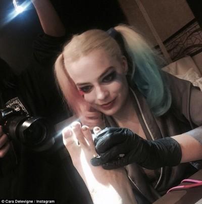cara delevingne suicide squad tattoo