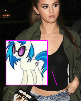 Selena Gomez May Have Gotten an Adorable My Little Pony Tattoo on Her Hip…