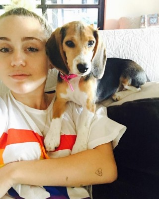 "Miley Cyrus Reveals ""MOO,"" ""LEETLE"" and ""WA"" Heart Tattoos"