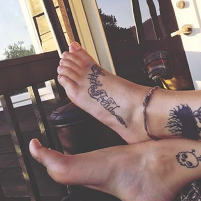 "Paris Jackson's Latest Tribute to MJ is an ""Apple Head"" Tat on Her Foot"